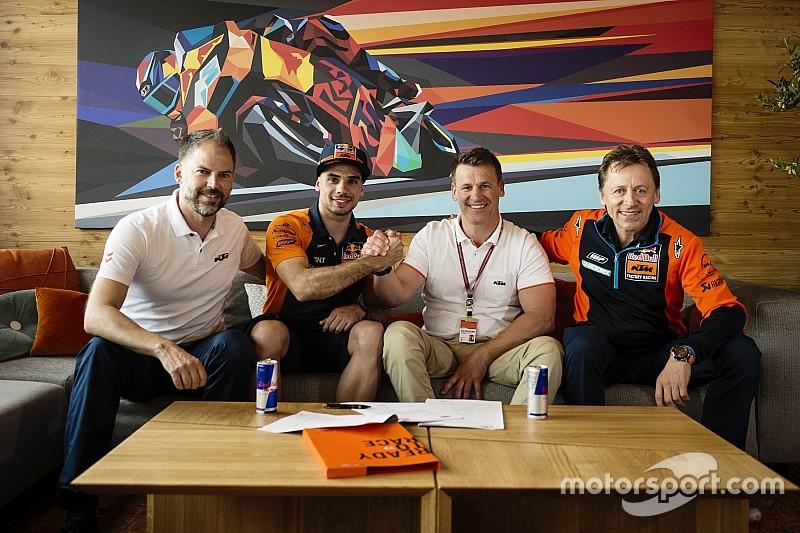 Miguel Oliveira dará el salto a MotoGP con el KTM-Tech3