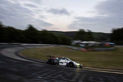 Nurburgring 24h: Van der Linde tops first qualifying for Audi