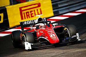 FIA F2 Race report Monaco F2: Fuoco wins crash-filled sprint race