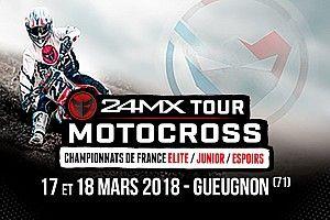 Coup d'envoi du 24MX Tour à Gueugnon