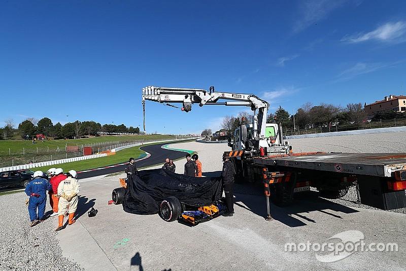 Причиной замены мотора на машине McLaren стала турбина