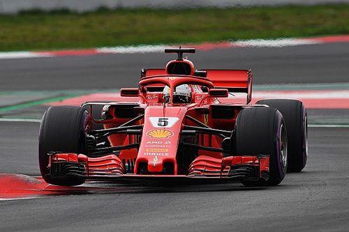 2. Barcelona testleri 3. gün: Vettel ve Ferrari uçuşa geçti!