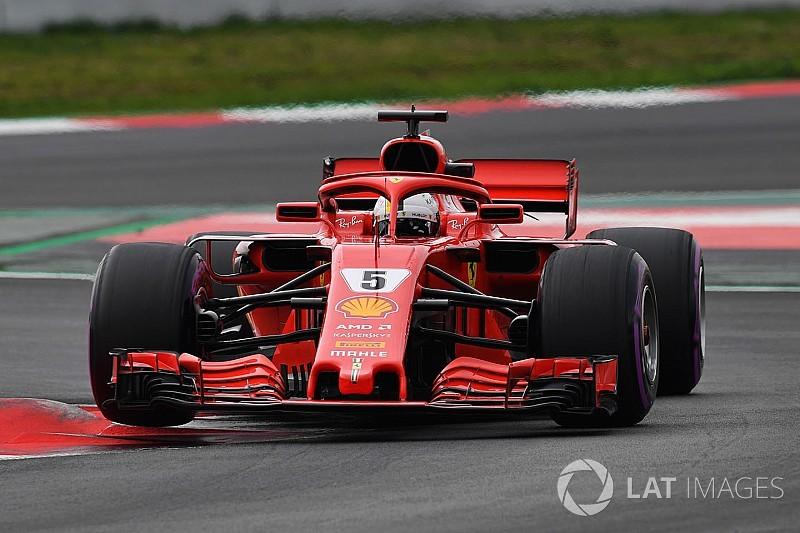 Vettel lidera el penúltimo día de pruebas por más de un segundo