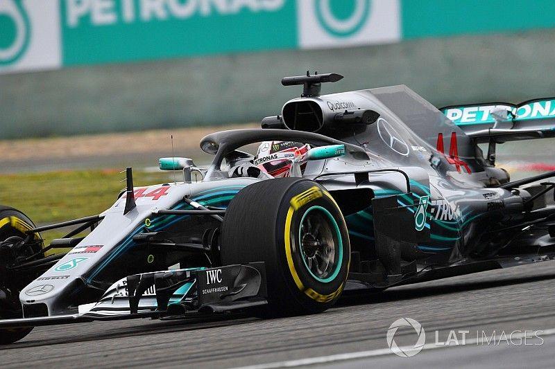 "Hamilton: ""Red Bull was heel erg sterk in de lange runs"""