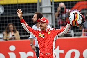 Videón Vettel rajtelsőségét érő köre a Német Nagydíjról
