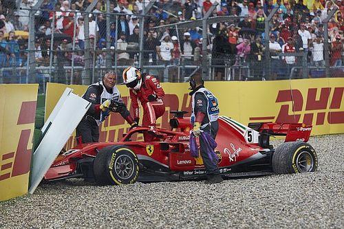 Verstappen defiende a Vettel de su error en Alemania