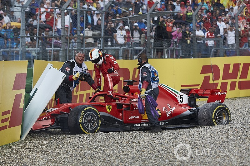 Verstappen defends Vettel over German GP error