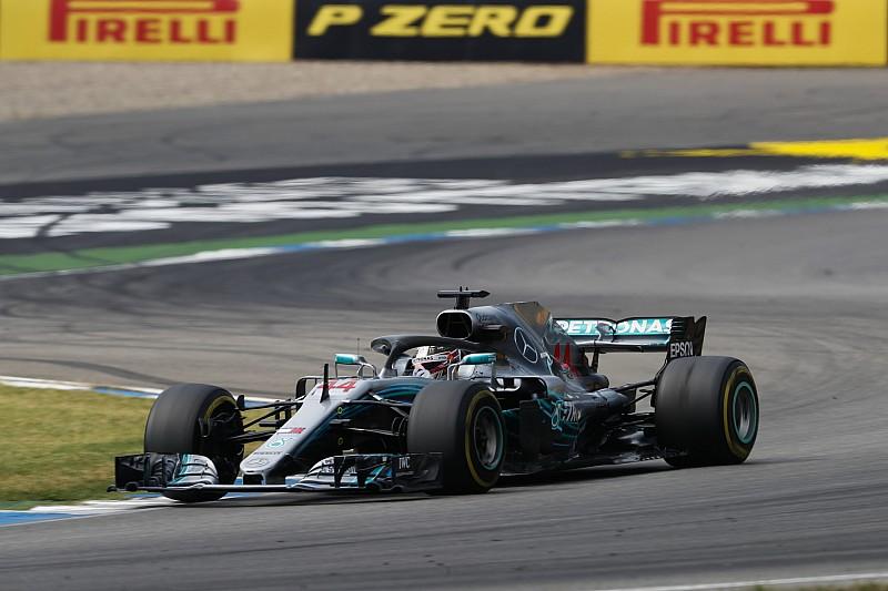 A Mercedes elmagyarázta, mi okozta a káoszt Hamilton kiállásánál a Német GP-n