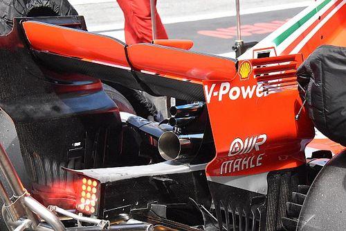 Ferrari testa sistema de escapamento único em Hockenheim