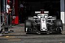 Sauber to halt 2018 car development
