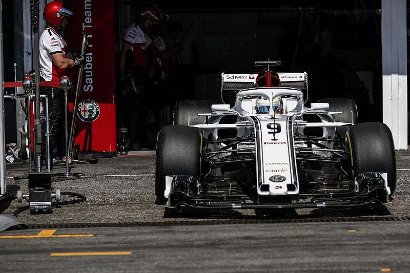 A Sauber jövő héten leáll a 2018-as autó fejlesztésével