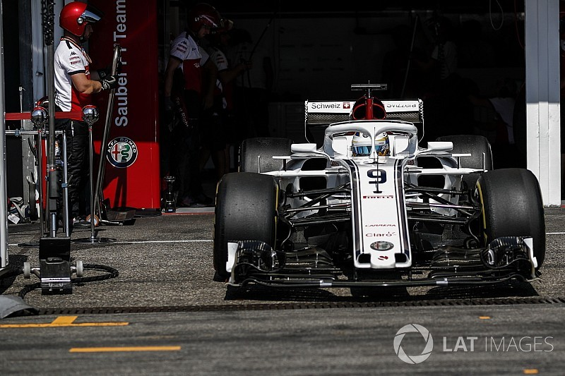 Sauber to halt 2018 car development