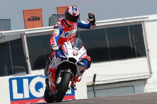 """Petrucci: """"La Ducati va bene, ma se non ti chiami Marquez 30 giri sono tanti a causa del degrado gomme..."""""""