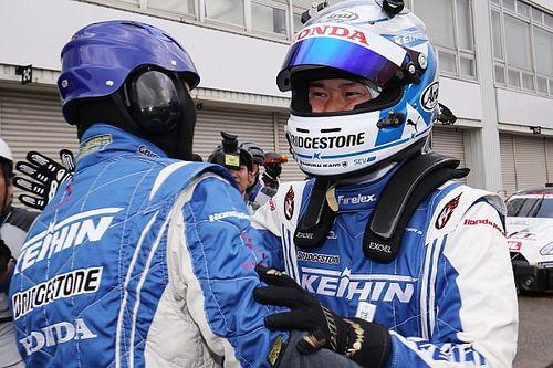 KEIHIN NSX-GT塚越広大「シーズンオフからの積み重ねが結果に繋がった」