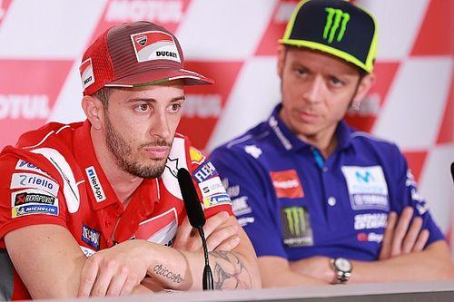 Dovizioso szerint Rossi már összetörte volna magát, ha nem vesz vissza