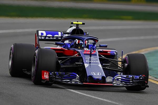F1 速報ニュース 予選で痛恨のミス! ガスリー「攻めすぎてミスを犯してしまった」