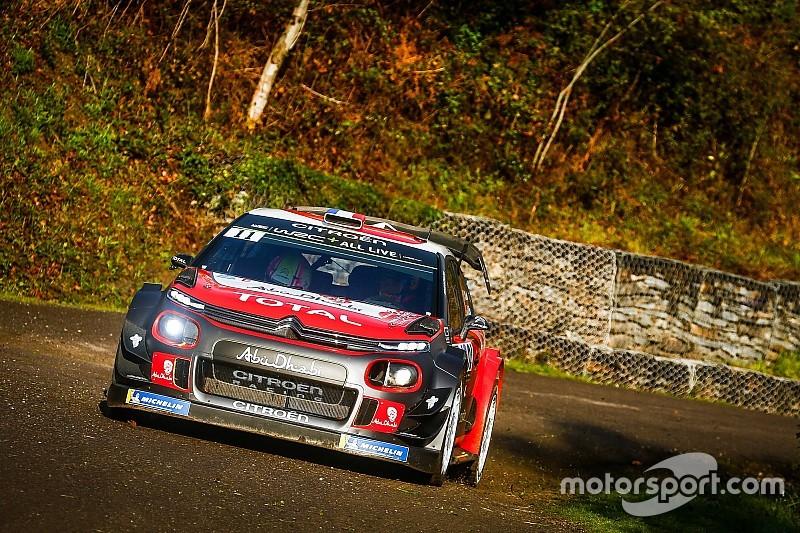 Loeb a pris part au test de Citroën avant la Grande-Bretagne