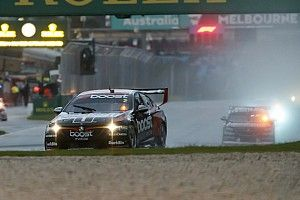 Albert Park Supercars: Pye holds off Whincup in wet thriller
