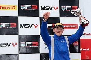 Pilotos y equipos de F1 celebraron el podio de Billy Monger
