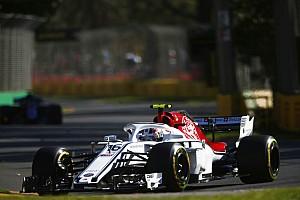 Leclerc onderschatte circuit Albert Park voor trainingen