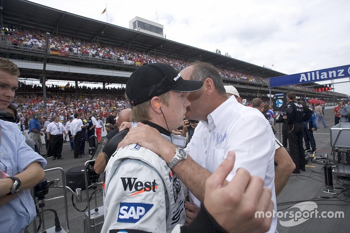 Newey szerint Räikkönen kezdetben még nem volt képes vezetni egy csapatot