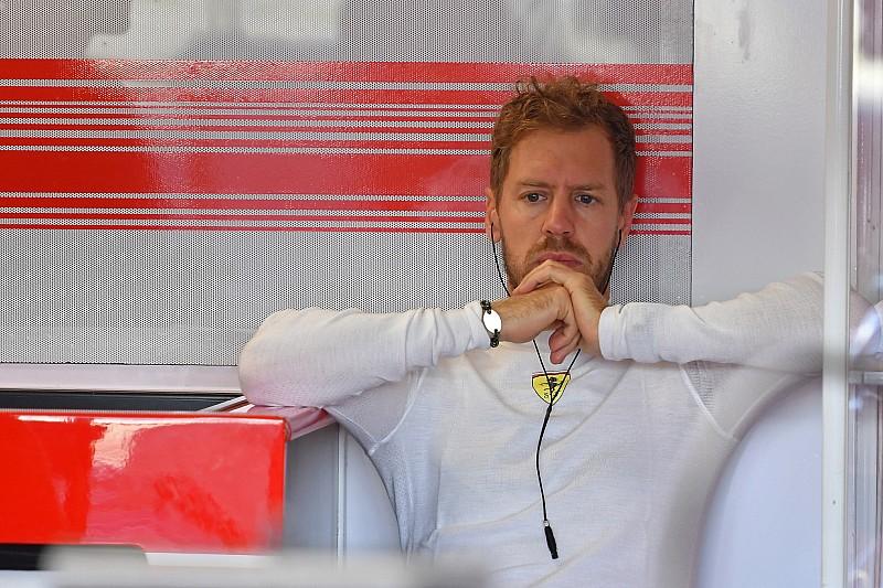 维特尔曾担心因颈部不适而错过排位赛