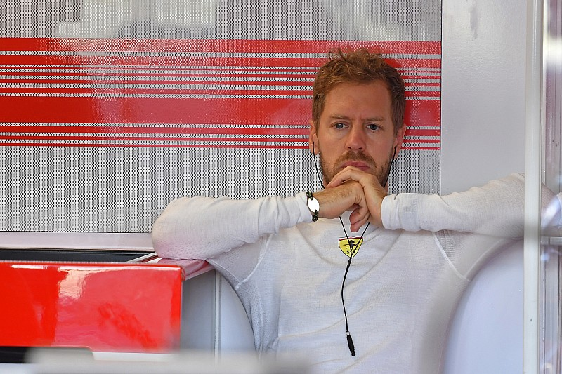 Vettel temió perderse la clasificación por su dolor de cuello
