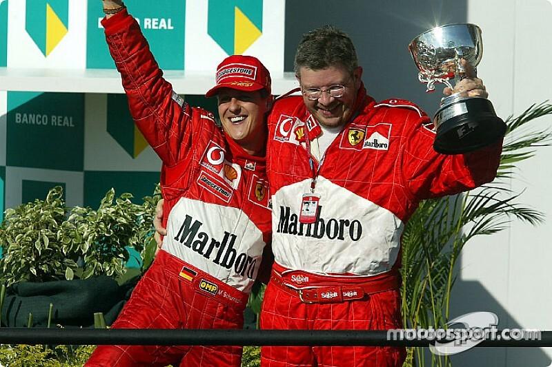 Full report: Flash back to Schumacher's 100th F1 podium