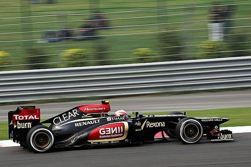 Les dix podiums de Romain Grosjean en Formule1