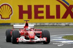 Mick vezeti, majd elárverezik Michael Schumacher 2002-es autóját