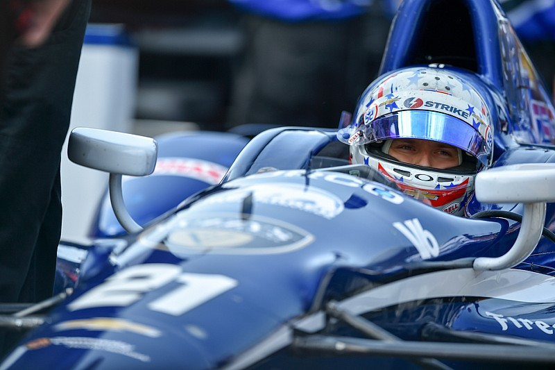 Newgarden heads an action-packed Monday practice session