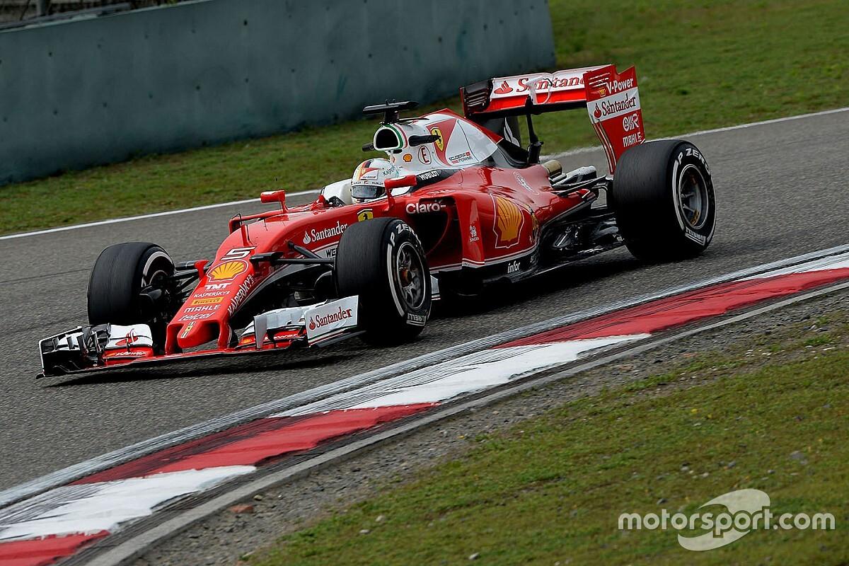 Vettel egészen parádés és leleményes előzése a Ferrarival: videó