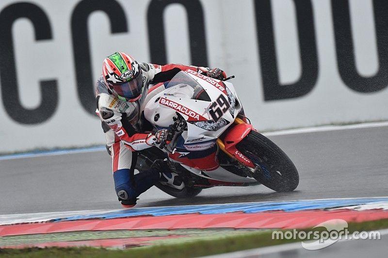 Hayden retrouve le podium avec Honda