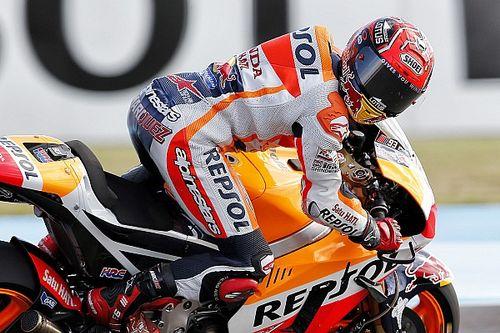 MotoGP Argentina: Marquez start terdepan, Rossi kedua