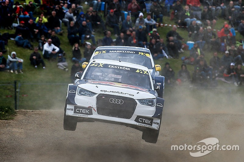Belgium WRX: Ekstrom beats Loeb to take championship lead