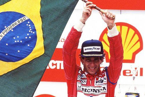 Vandaag 29 jaar geleden: Senna wint in Sao Paulo