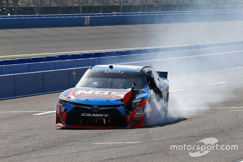 Kyle Busch fined $10,000 for post-race conduct
