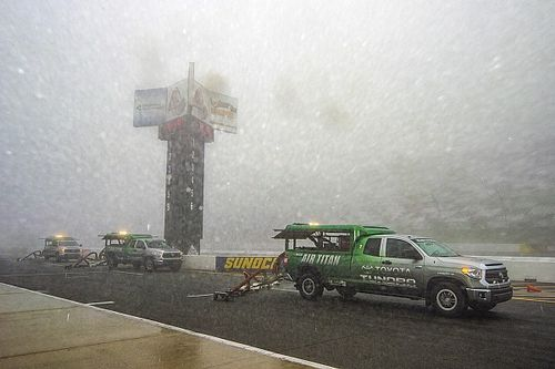 Inclement weather forces NASCAR to postpone Pocono Cup race