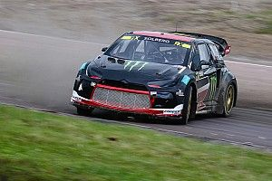Sweden WRX: Solberg quickest in damp Friday practice