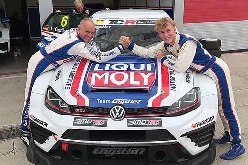 Luca Engstler steht als 1. Fahrer für TCR Deutschland 2017 fest