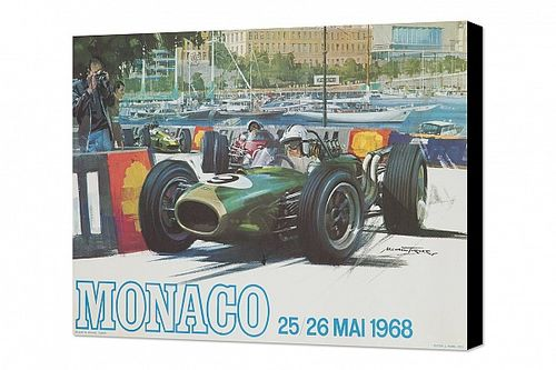 Monaco art: Iconic machines on a legendary track