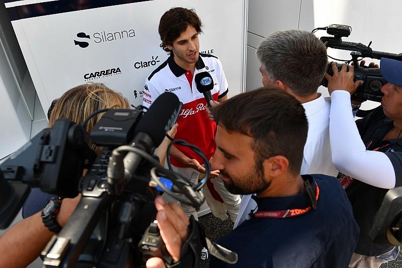 Giovinazzi, Macaristan'daki ilk seansta Leclerc yerine piste çıkacak