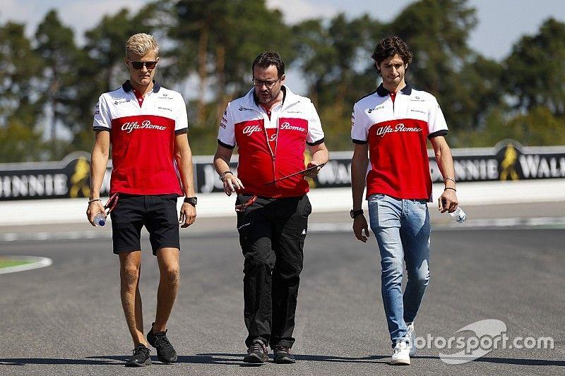 Giovinazzi vs. Ericsson : Sauber attend la décision de Ferrari