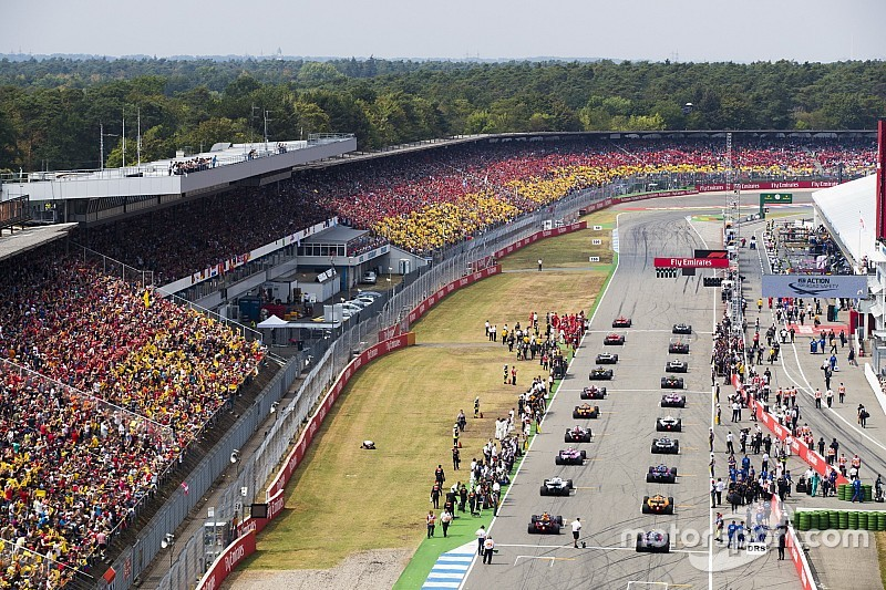 F1 bosses convinced Mercedes to save German GP