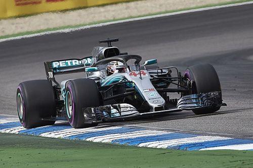 Hamilton denkt dat teamorder in Duitsland niet nodig was