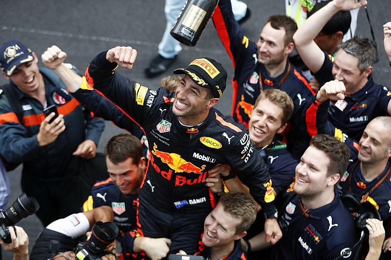Marko: Bahreyn ve Bakü'deki olaylar olmasa Ricciardo şampiyonluk savaşında olurdu