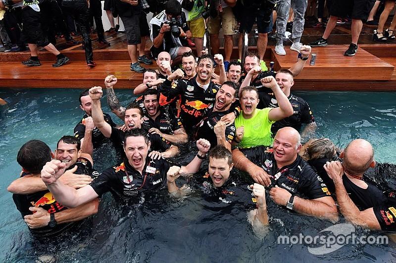 Red Bull, Ricciardo'nun gidişine üzülüyor