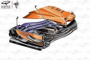 Análise: A asa dianteira que a McLaren não usou em Mônaco