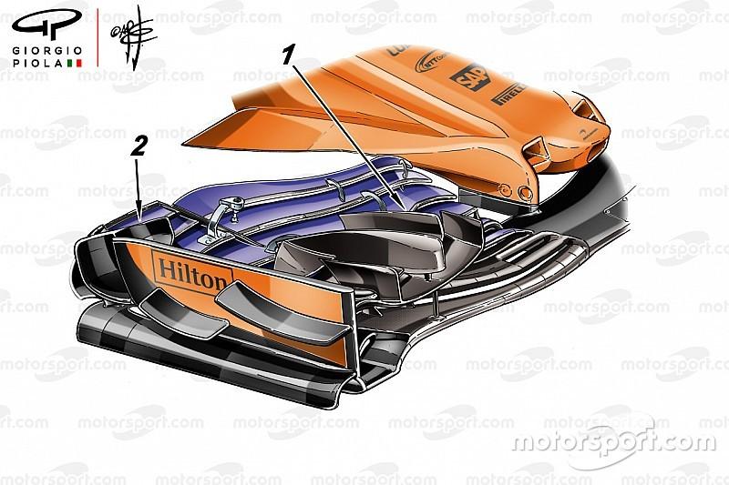 The new wing McLaren didn't risk racing in Monaco