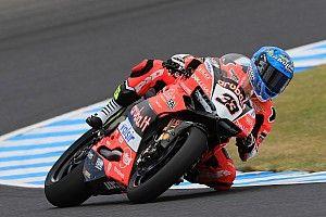 WSBK-Test: Bestzeit für Ducati, Jonathan Rea stürzt